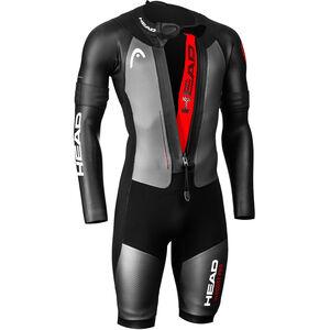 Head Swimrun MyBoost Pro Wetsuit Herren black-silver black-silver