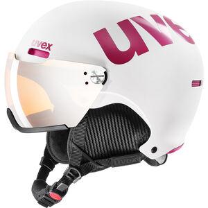 UVEX hlmt 500 Visor Helm white-pink mat white-pink mat