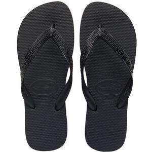 havaianas Top Flips black black