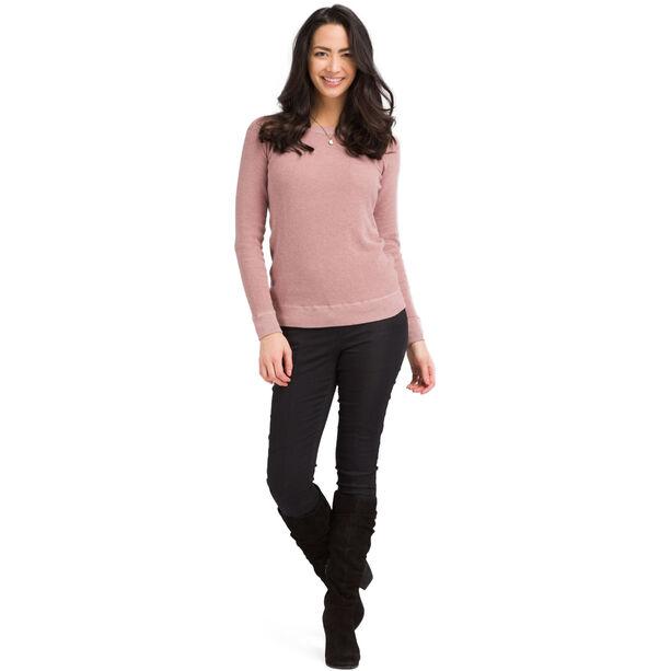 Prana Milani Rundhals-Sweater Damen light mauve heather
