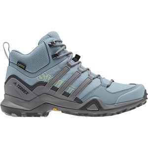 adidas TERREX Swift R2 Mid GTX Shoes Damen ash grey/gretwo/gresix ash grey/gretwo/gresix