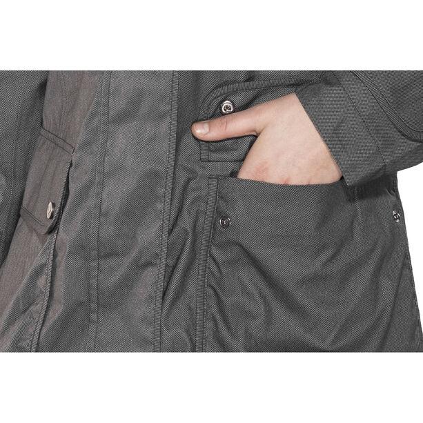 Finside Joutsen Zip-In Jacket Damen graphit melange