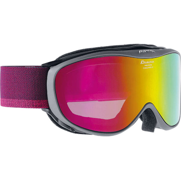 Alpina Challenge 2.0 Multimirror S2 Goggles pink anthracite