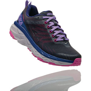 Hoka One One Challenger ATR 5 Running Shoes Damen ebony/very berry ebony/very berry