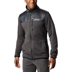 Columbia Canyon Point Sweater Fleece Full Zip Jacke Herren black black