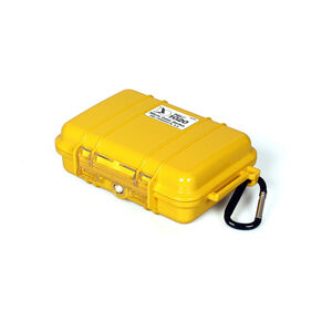 Peli MicroCase 1020 Box yellow yellow