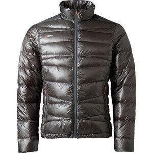 Yeti Strato Ultralight Down Jacket Herren dark gull grey/mandarin red dark gull grey/mandarin red