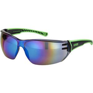 UVEX Sportstyle 204 Sportbrille black/green/green