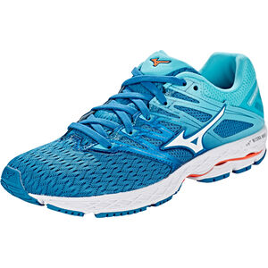 Mizuno Wave Shadow 2 Shoes Damen blue sapphire/white/blue curacao blue sapphire/white/blue curacao