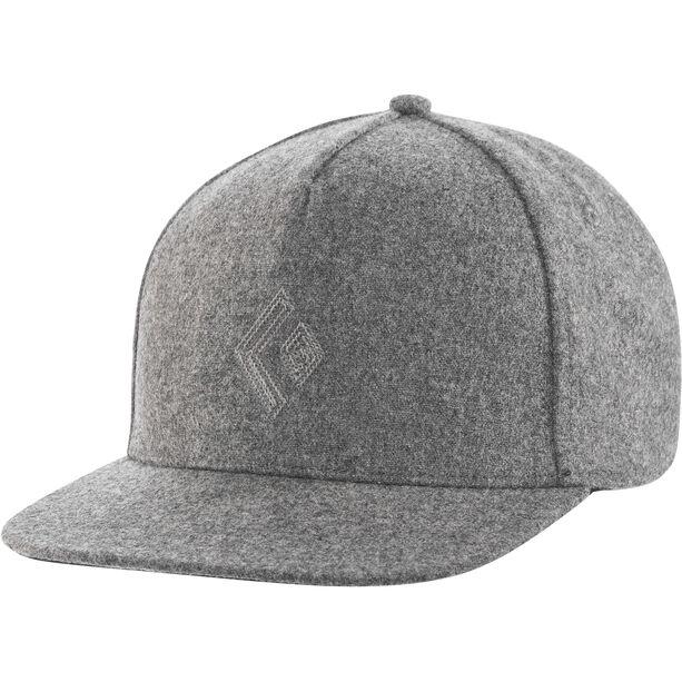 Black Diamond Wool Trucker Hat ash