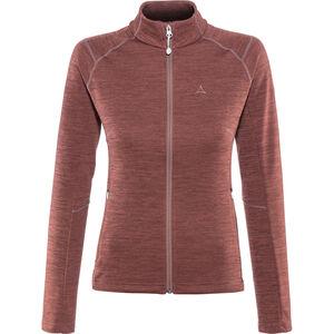 Schöffel Nagoya Fleece Jacket Damen roan rouge roan rouge