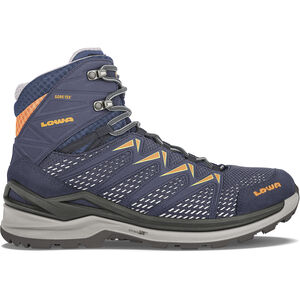 Lowa Innox Pro GTX Mid-Cut Schuhe Damen steel blue/salmon steel blue/salmon