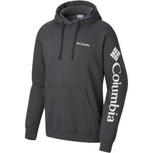 Columbia Viewmont II Sleeve Graphic Hoodie Herren charcoal heather charcoal heather