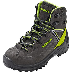 Lowa Ledro GTX Mid Shoes Kinder anthracite/lime anthracite/lime