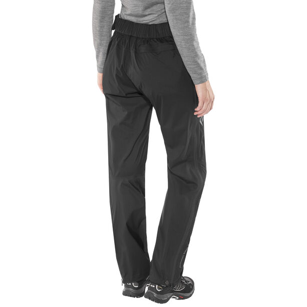 Black Diamond Stormline Stretch Full-Zip Regenhose Damen black