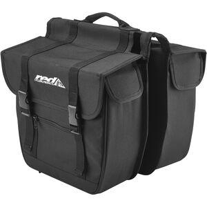 Red Cycling Products Travel Double Bag Gepäckträgertasche schwarz schwarz