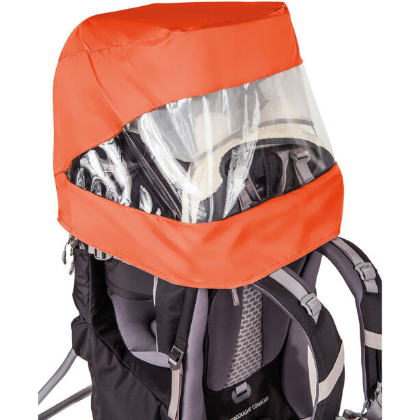 VAUDE Shuttle Sun-Raincover-Combination orange