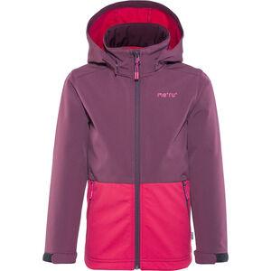 Meru Brest Softshell Jacket Kinder crushed violet crushed violet
