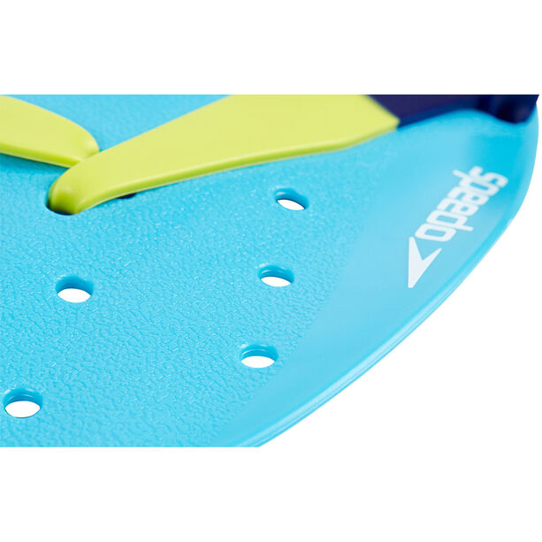 speedo Tech Paddles turquoise/lime/ultramarine