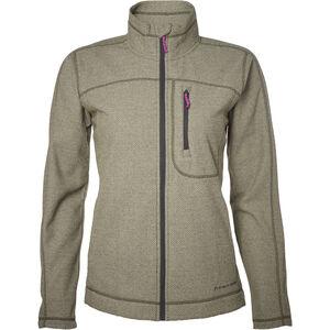 North Bend Aspect Fleece Jacket Damen green lichen green lichen