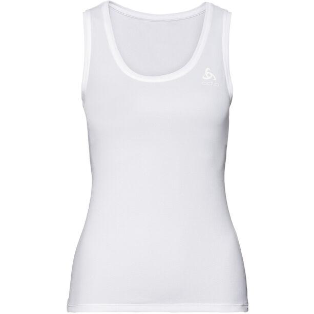 Odlo Active F-Dry L Top Crew Neck Singlet Damen white
