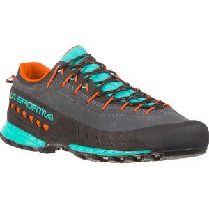 La Sportiva TX4 Shoes Damen carbon/aqua carbon/aqua