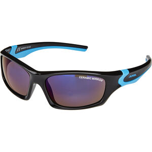 Alpina Flexxy Teen Brille Jugend black-cyan black-cyan