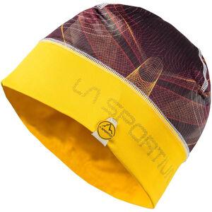 La Sportiva Record Beanie black/yellow black/yellow