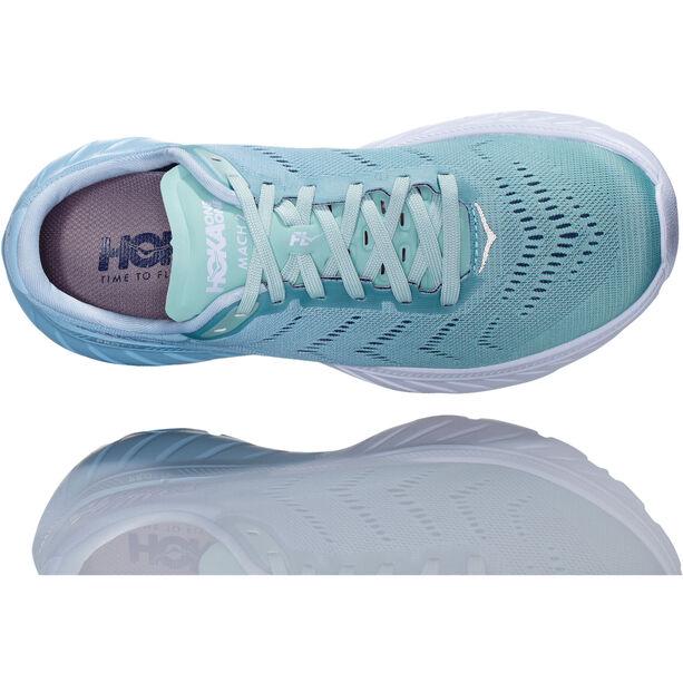 Hoka One One Mach 2 Laufschuhe Damen aquamarine/lichen