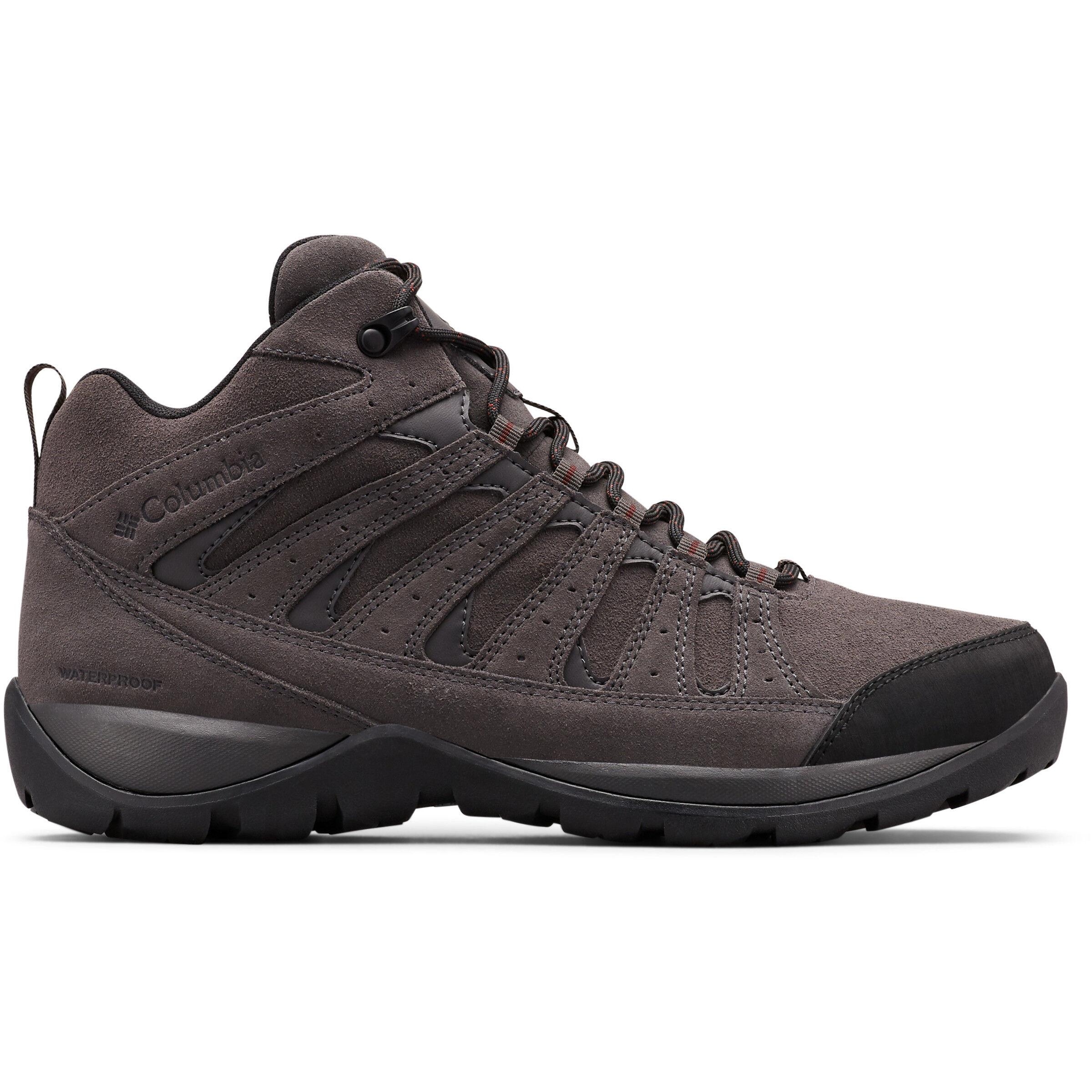 Columbia Redmond V2 LTR WP Mid Cut Schuhe Herren dark greymadder brown