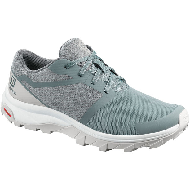 Salomon Outbound Schuhe Damen lead/lunar rock/white