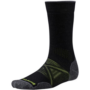 Smartwool PhD Outdoor Medium Crew Socks black black