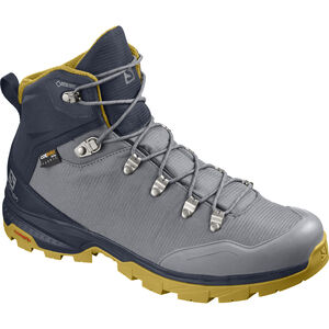 Salomon Outback 500 GTX Shoes Herren quiet shade/navy blazer/green sulphur quiet shade/navy blazer/green sulphur