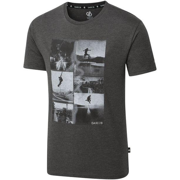 Dare 2b Token T-Shirt Herren charcoal grey marl