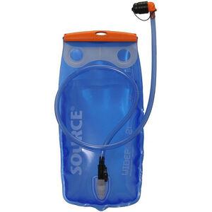 SOURCE Widepac Trinkblase 2 Liter transparent/blue transparent/blue