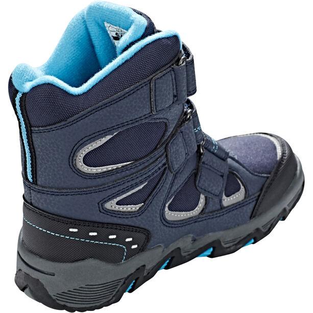 Hi-Tec Thunder WP Shoes Jungen navy/turquoise/black
