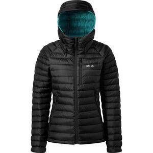 Rab Microlight Alpine Jacke Damen black/seaglass black/seaglass