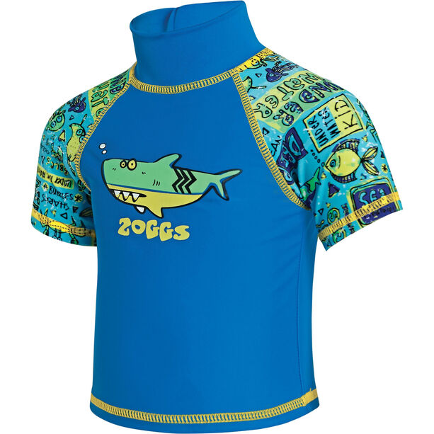 Zoggs Deep Sea Sun Top Kinder blu china/green