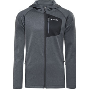 Columbia Jackson Creek II Hoodie Herren Black Heather Black Heather