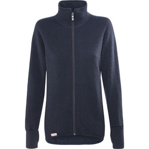 Woolpower 600 Full-Zip Jacke dark navy
