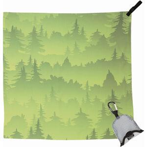 PackTowl Nano Handtuch green trees green trees