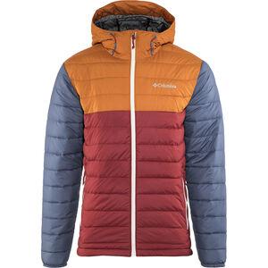 Columbia Powder Lite Hooded Jacket Herren red element/bright copper