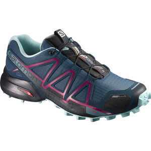 Salomon Speedcross 4 CS Shoes Damen mallard blue/reflecting pond/eggshell blue mallard blue/reflecting pond/eggshell blue