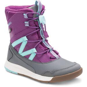 Merrell Snow Crush WP Stiefel Mädchen purple/turquoise purple/turquoise