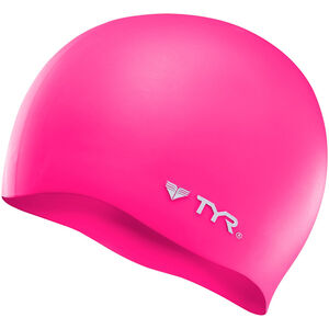 TYR Silicone Cap No Wrinkle flou pink