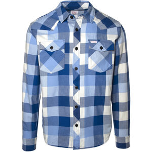 Topo Designs Mountain Big Plaid Shirt Herren blue blue