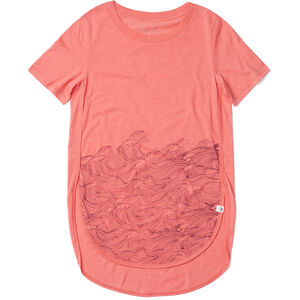 tentree Rising Sea T-Shirt Damen porcelain rose porcelain rose
