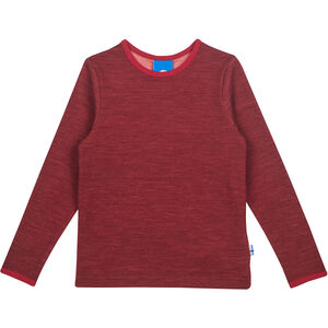 Finkid Taamo Woll Longsleeve Mädchen cabernet/persian red cabernet/persian red