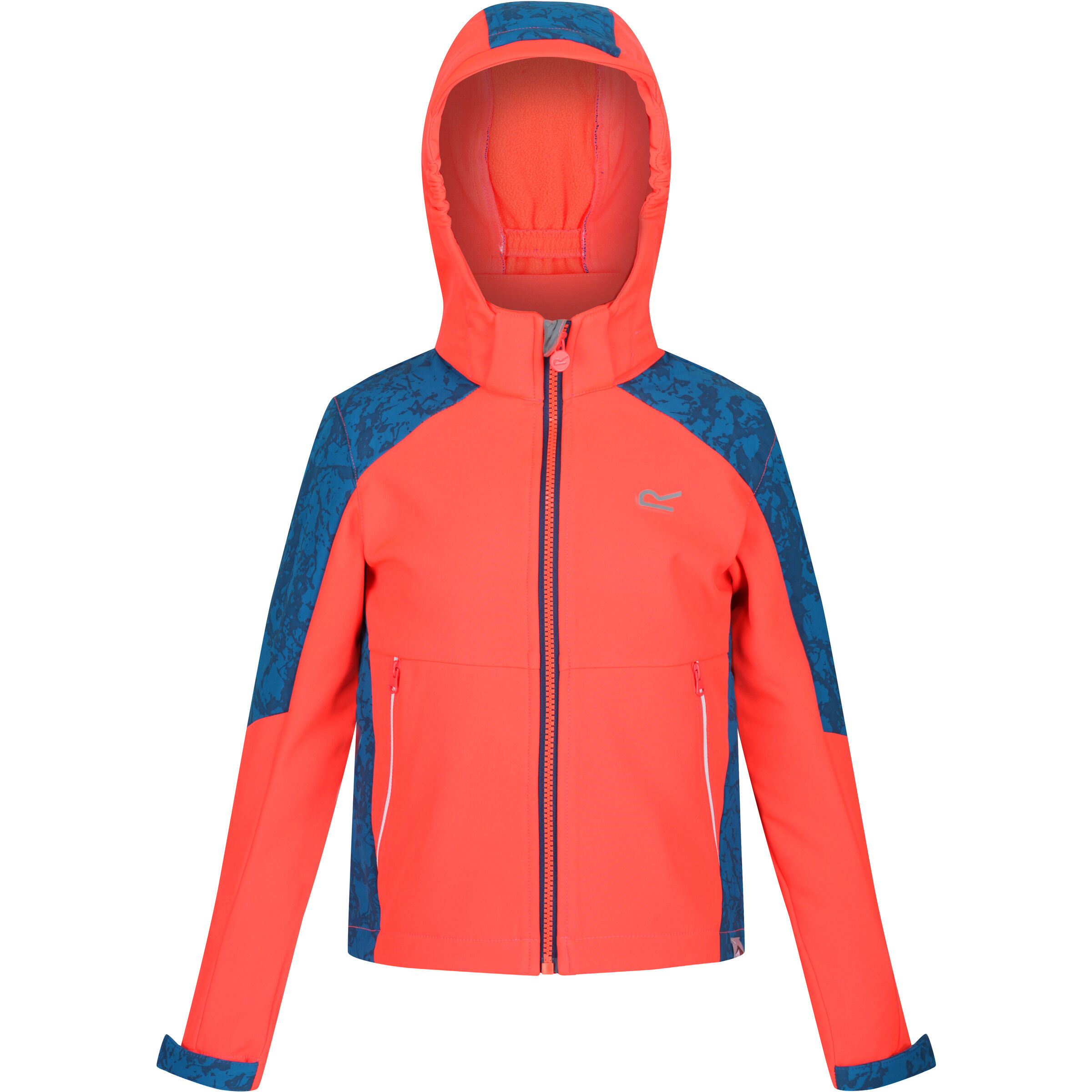 jacke hybrid grau orange regatta