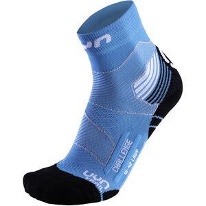UYN Run Trail Challenge Socks Damen turquoise/white turquoise/white